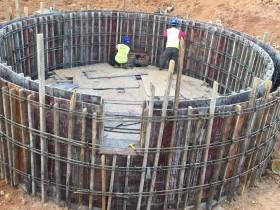 中以国际科技合作产业中心排水管顶管工程